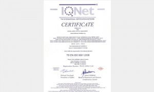 K-Q-TSE-ISO-EN-9001:2008 Kalite Yönetim Sistemleri