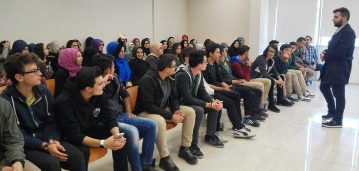 Özel Enderun Lisesi Öğrencileri, Karatay Üniversite'sinde