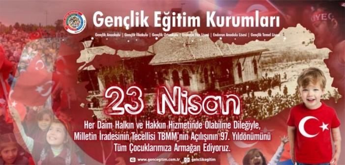 23 Nisan 1920'de Ulusal Egemenliğin Sireti TBMM'nin Açılışının 97. Yıldönümü
