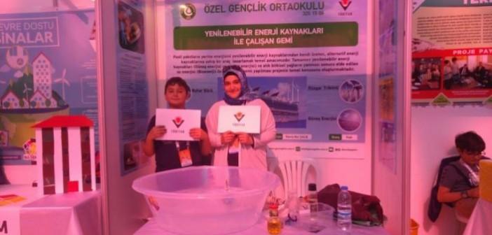Özel Gençlik Tübitak'ta Konya'yı Temsil Etti
