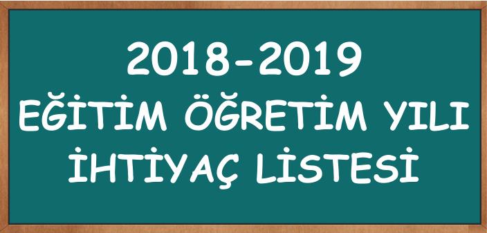 201819-ihtiyaclistesi