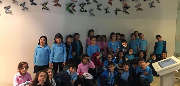 2. Sınıf öğrencileri Kelebekler Vadisi`nde