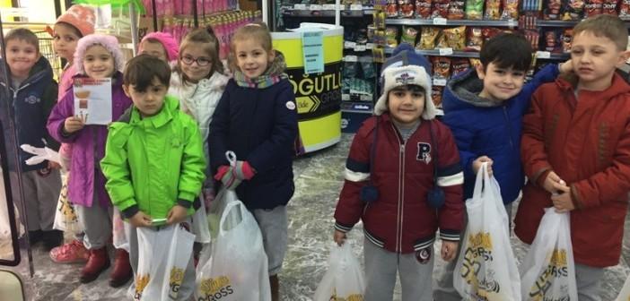 Özel Gençlik Anaokulu Market Alış Verişinde