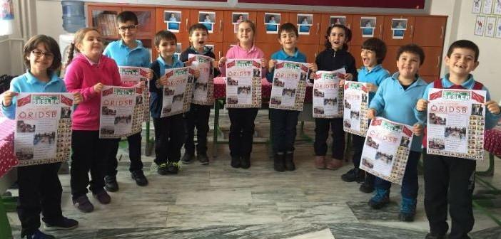 Birinci Sınıf Öğrencileri Gazete Okumaya Devam Ediyor