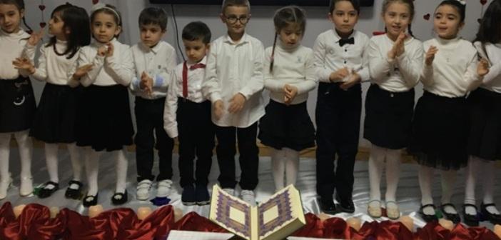 Özel Gençlik Anaokulu'nda Kur'an-ı Kerim'e Geçiş Programı