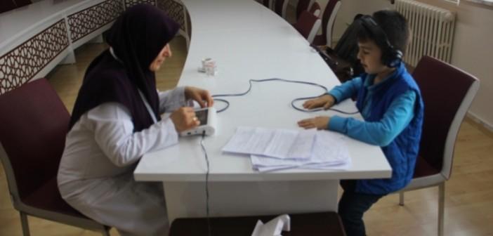 Özel Gençlik İlkokulu 1. Sınıf Öğrencilerine İşitme Tarama testi Uygulandı