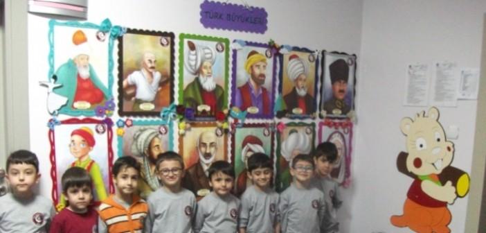 Özel Gençlik Anaokulu Türk Büyüklerini Öğreniyor