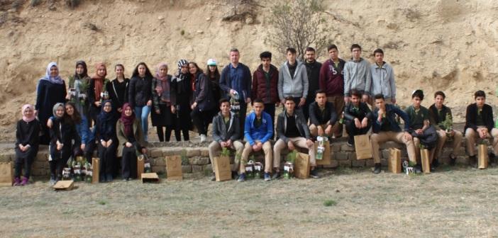 Konya'yı Güzelleştiren Özel Enderun Öğrencileri