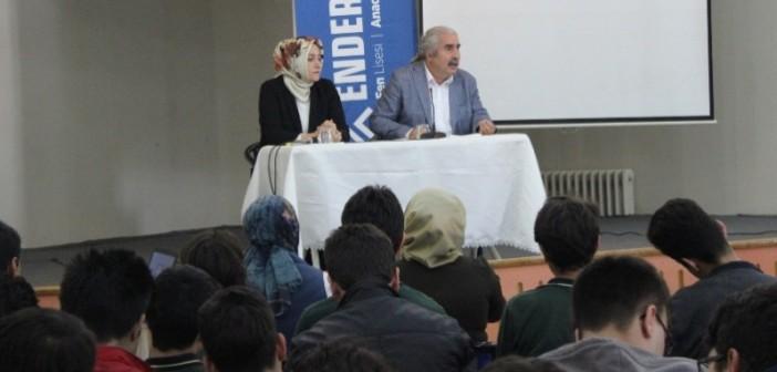 Enderun Mektebi Okur-Yazar Buluşmaları Kapsamında A. Ali Ural İle Naime Erkovan'ı Ağırladı