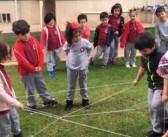 Özel Gençlik Anaokulu'nda Annelerle Geleneksel Çocuk Oyunları