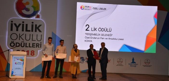 Özel Enderun Fen ve Anadolu Lisesi Türkiye İkincisi