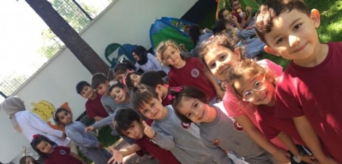 Özel Gençlik Anaokulunda Okul Dışarıda Etkinliği