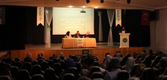 2018-2019 Eğitim Öğretim Yılı 1. Dönem Veli Toplantısı Düzenlendi