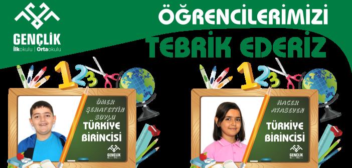 Gençlik'te Yine Türkiye Derecesi