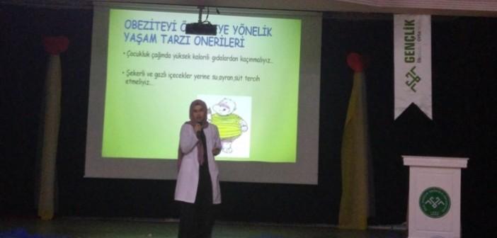 Ortaokulu Diyabet ve Obezite Sunumu