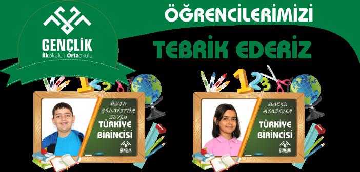 Gençlik'te Türkiye Derecesi