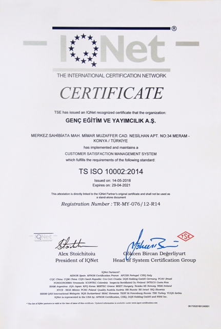 10002-2014 Müşteri Memnuniyeti Yönetim Sistemleri (1)