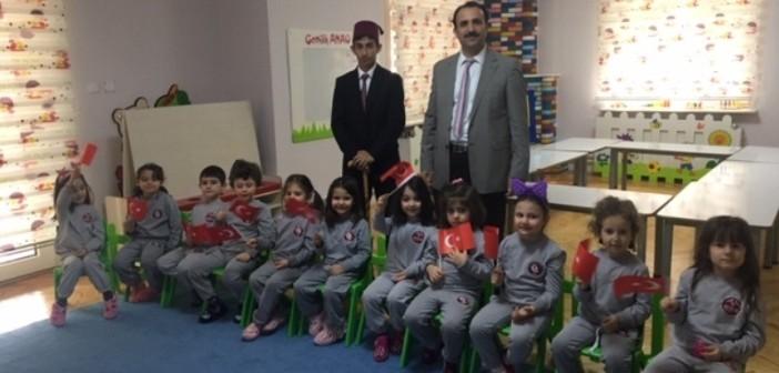 Özel Gençlik Anaokulu'nda 12 Mart İstiklal Marşının Kabulü Ve Mehmet Akif Ersoy