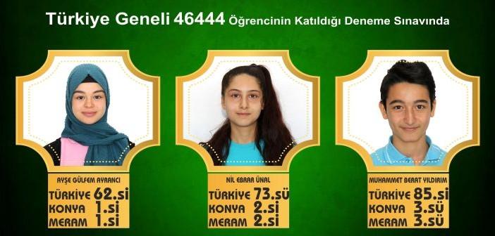 Türkiye Geneli 46444 Öğrencinin Katıldığı Deneme Sınavında