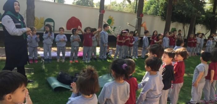 Özel Gençlik Anaokulu'nda Çadır Kampı