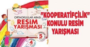 Kooperatif Konulu Resim Yarışması'nda Konya 3. Olduk