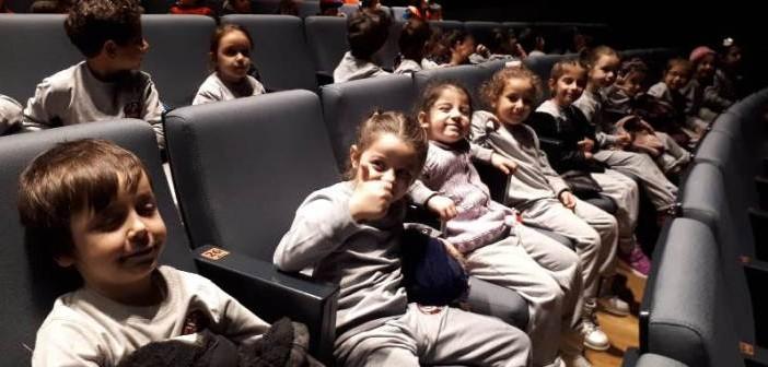 Özel Gençlik Anaokulu ve Özel Gençlik İlkokulu Anasınıfı Öğrencileri, Kuyudaki Aslan Tiyatrosunu İzledi