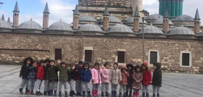 Özel Gençlik Anaokulu ve Gençlik İlkokulu Anasınıfı Öğrencileri Mevlana Müzesini ve Selimiye Camii'ni Ziyaret Ettiler