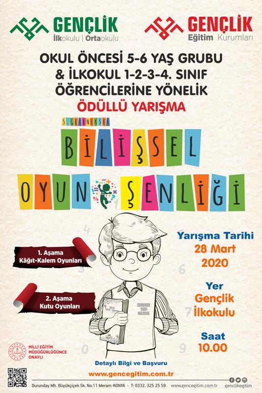 bilişsel oyun şenliği afiş