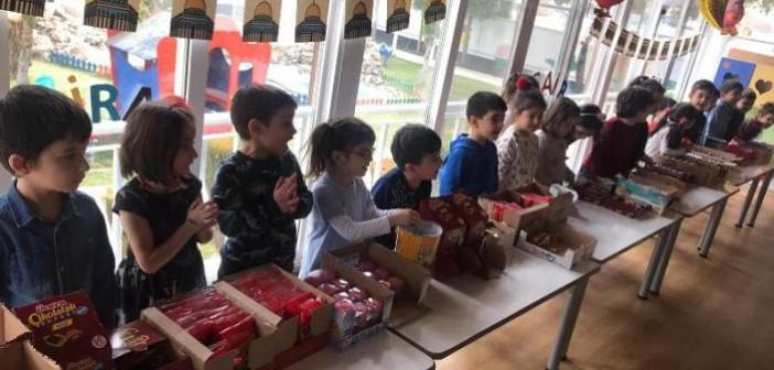 Gençlik Anaokulu-Gençlik İlkokulu Anasınıfı'nda Regaib Kandili Kutlaması ve Şivlilik