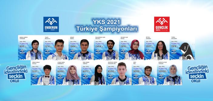2021 YKS Şampiyonları
