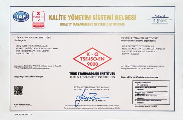 9000-2015 Kalite Yönetim Sistemleri (2)